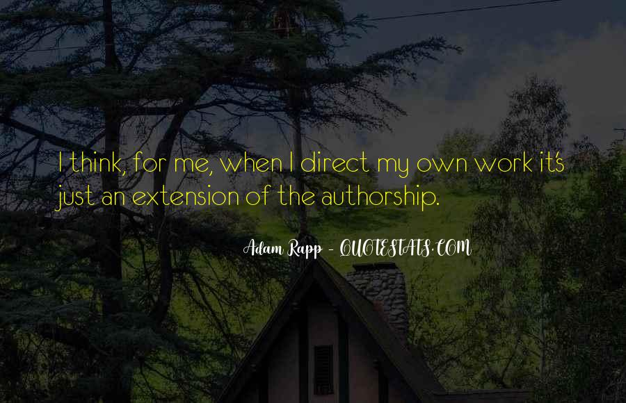 Quotes About Extension #170220