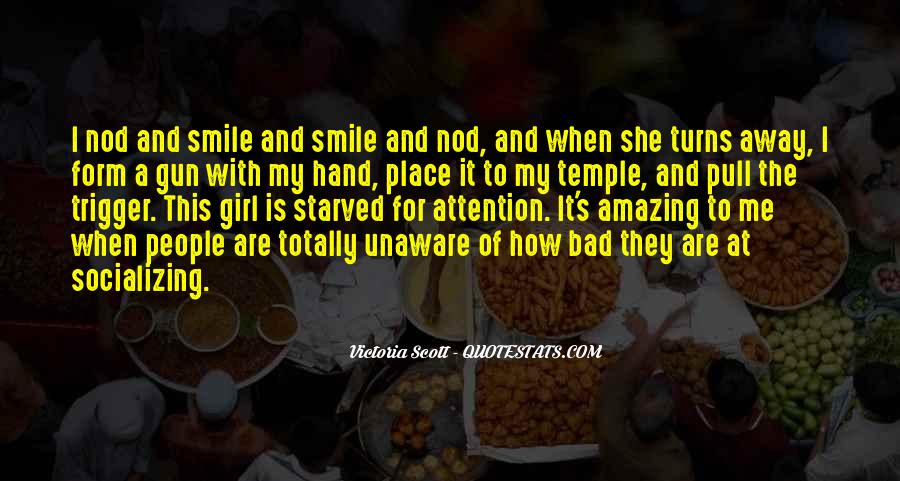 Yes I Am A Bad Girl Quotes #115501