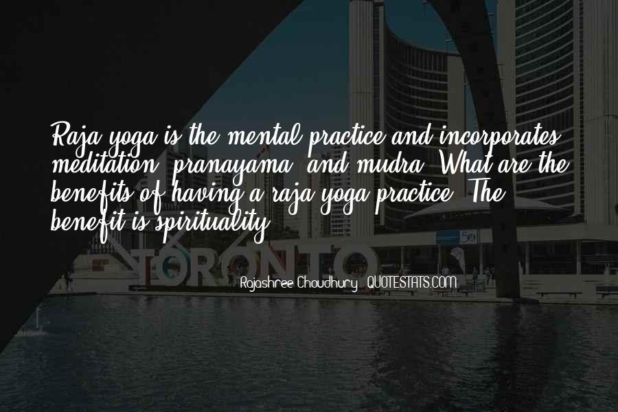 Yoga Benefits Quotes #1295226