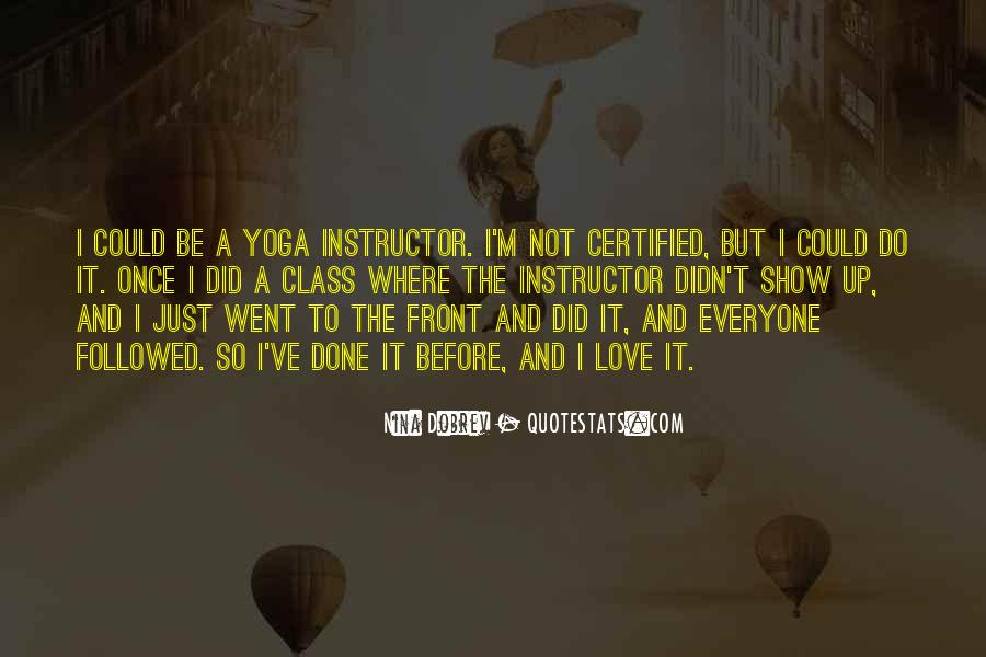 Yoga Instructor Quotes #1558218