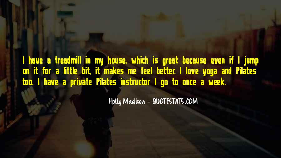 Yoga Instructor Quotes #5366