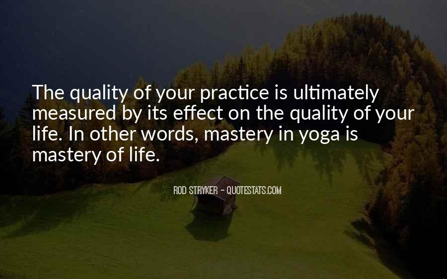 Yoga Is Life Quotes #237890