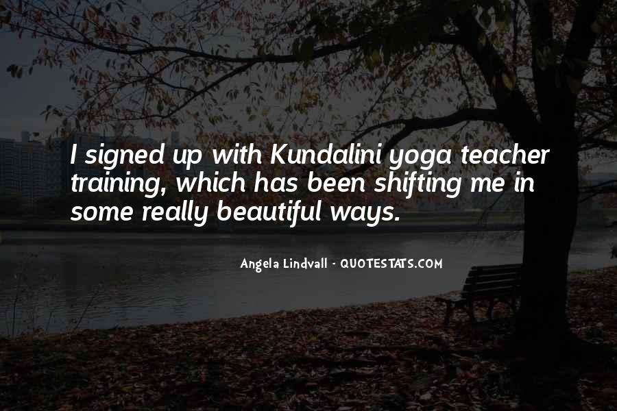 Yoga Training Quotes #1027629