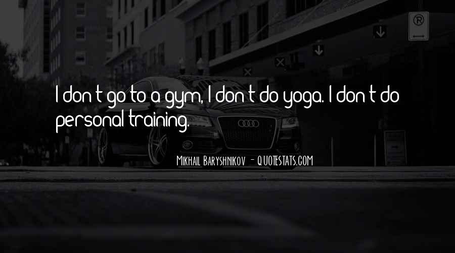 Yoga Training Quotes #1354023