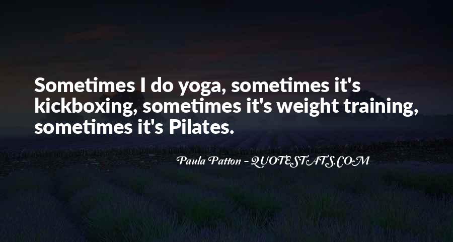 Yoga Training Quotes #616315