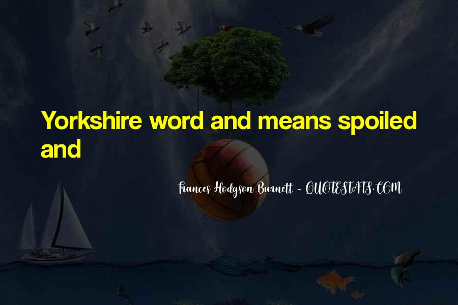 Yorkshire Day Quotes #233948