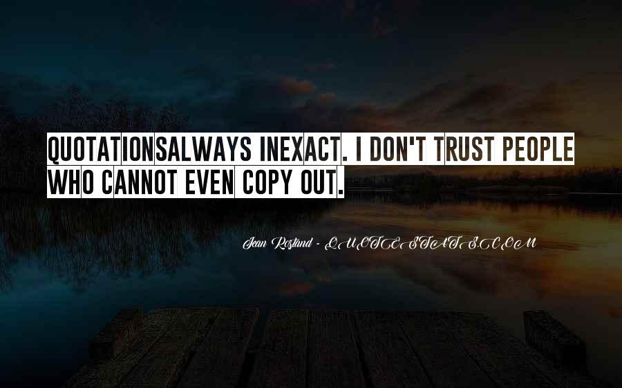 You Always Copy Me Quotes #408587