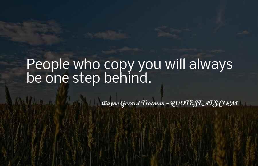 You Always Copy Me Quotes #798001