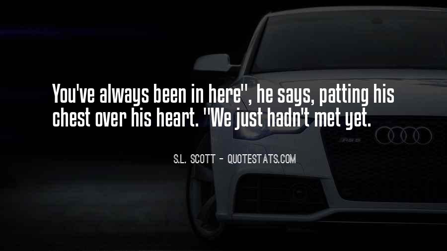 You Always Here In My Heart Quotes #124295