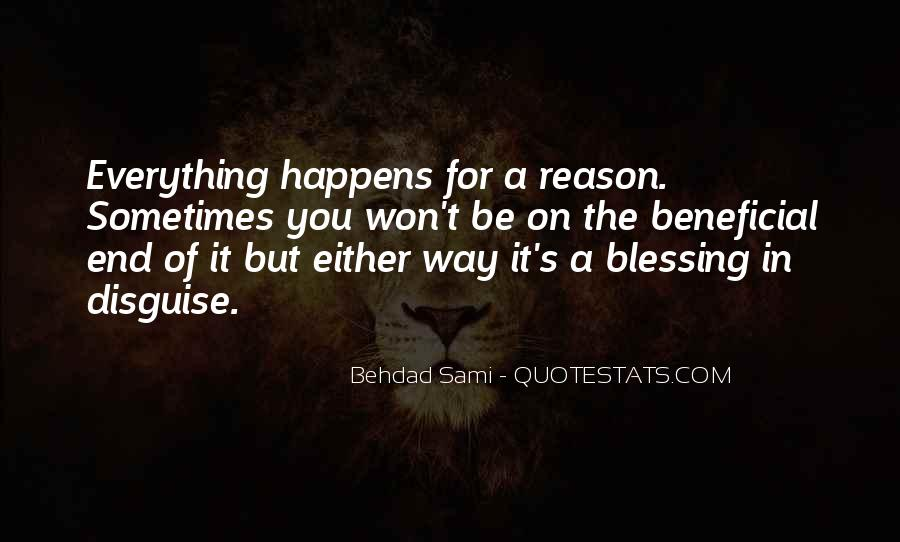 You Are A Blessing In Disguise Quotes #1326536