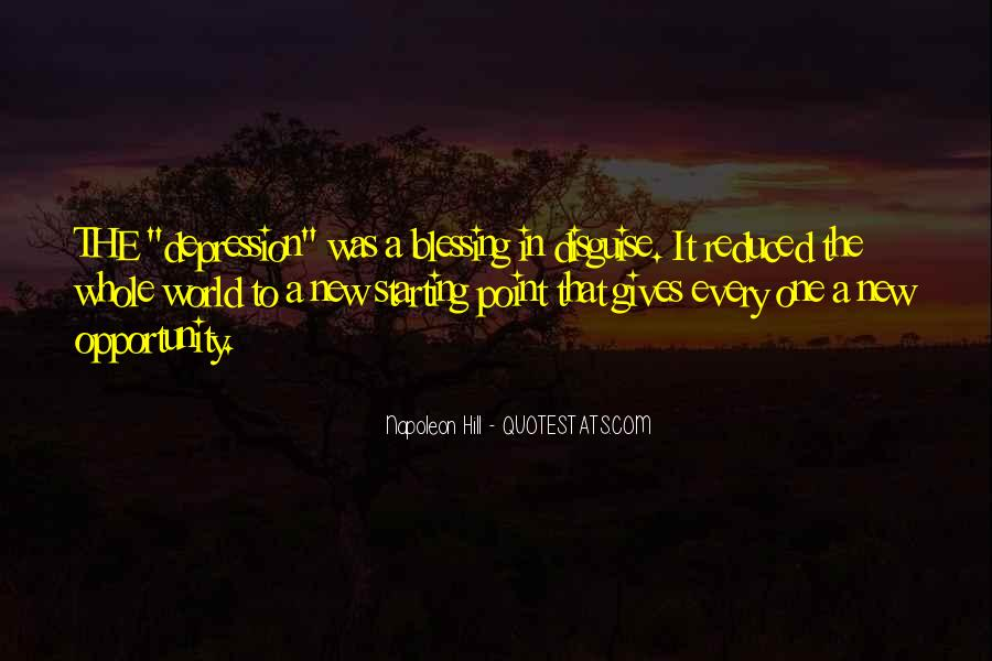 You Are A Blessing In Disguise Quotes #907657