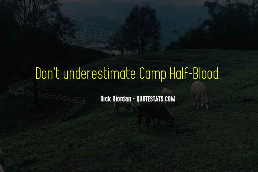 Quotes About Camp Half Blood #115311