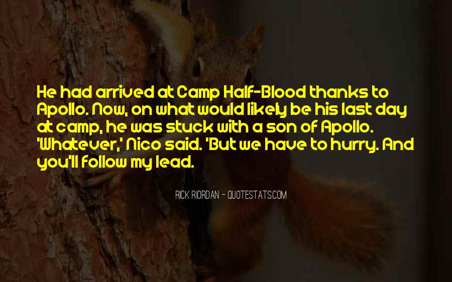 Quotes About Camp Half Blood #268343