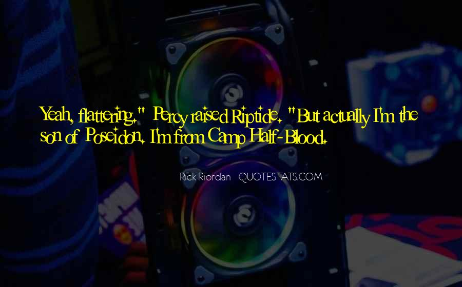Quotes About Camp Half Blood #724717