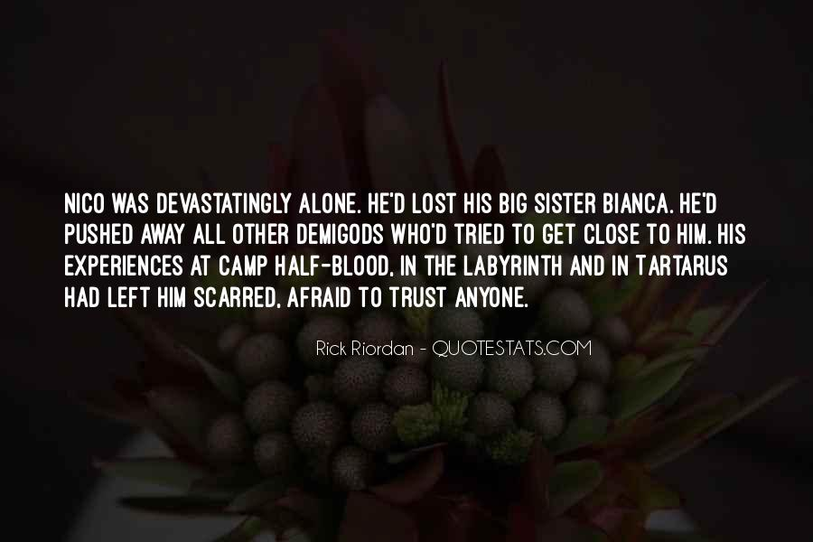 Quotes About Camp Half Blood #970608