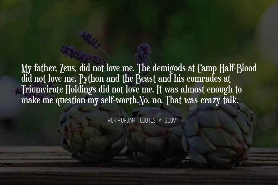 Quotes About Camp Half Blood #99274