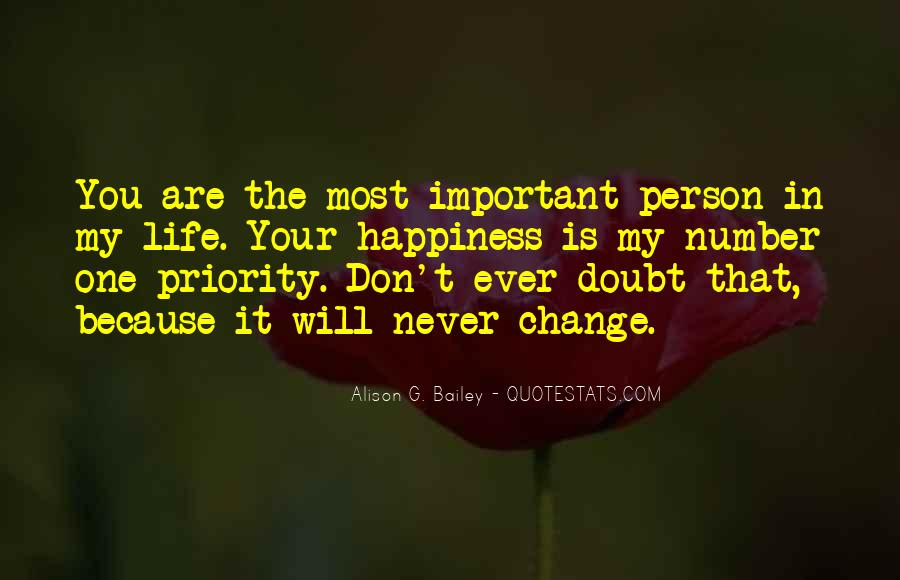 You Are Important Person Quotes #1022606