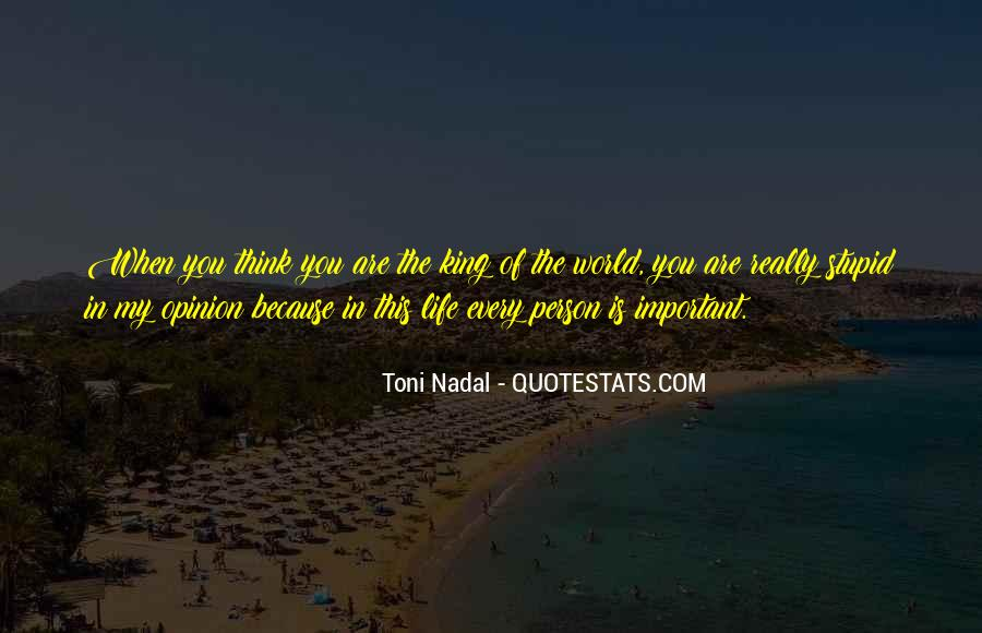 You Are Important Person Quotes #1067452