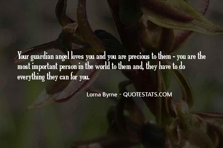 You Are Important Person Quotes #1122321