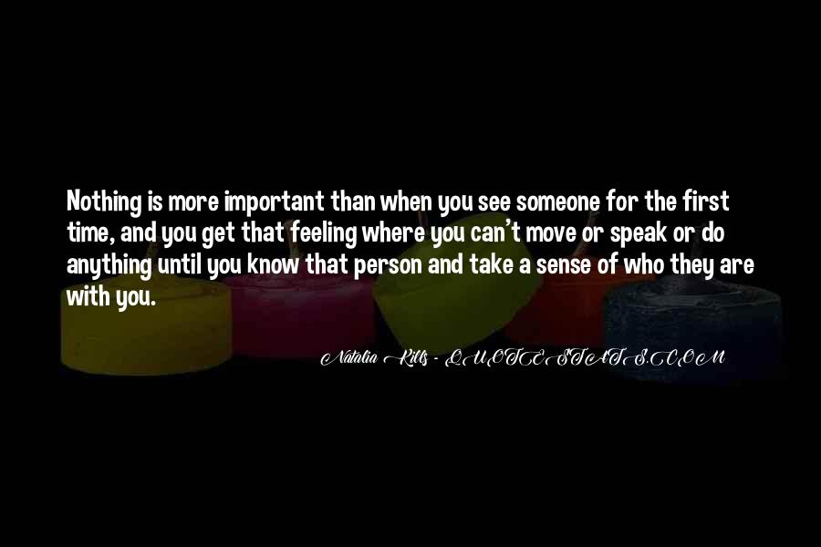 You Are Important Person Quotes #1318645