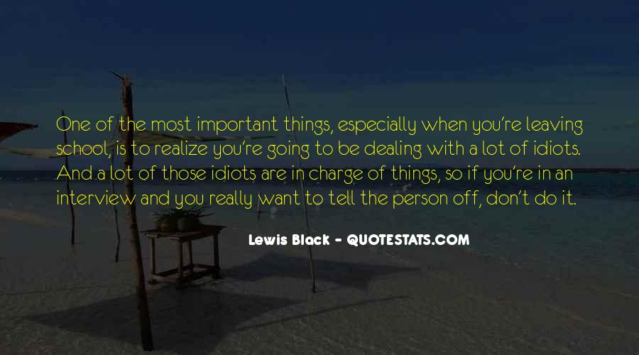 You Are Important Person Quotes #1806024