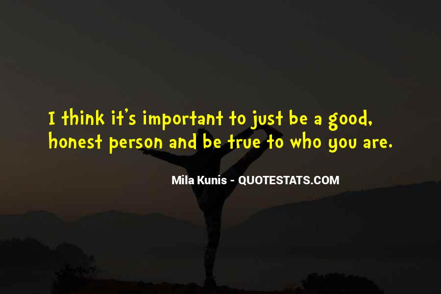 You Are Important Person Quotes #191824