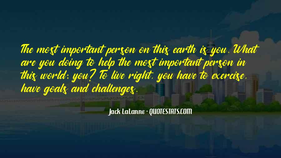 You Are Important Person Quotes #459416