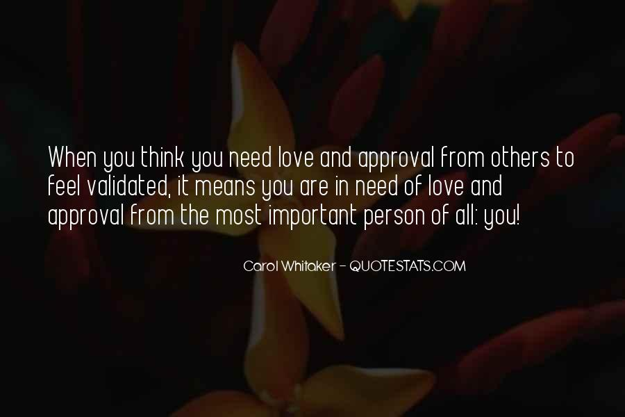 You Are Important Person Quotes #549999