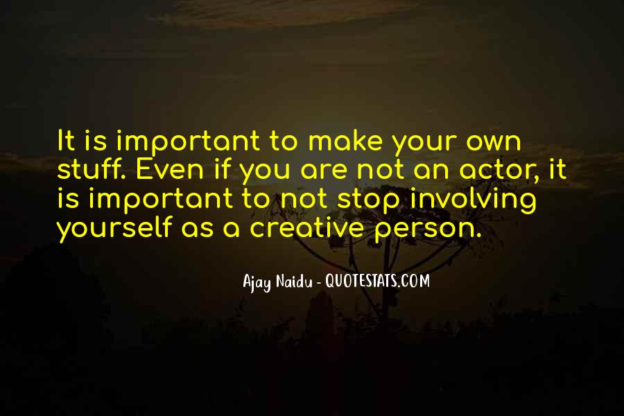 You Are Important Person Quotes #888636