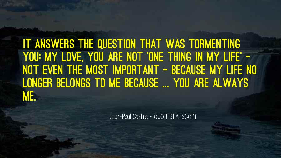 You Are Important To Me Love Quotes #1345890