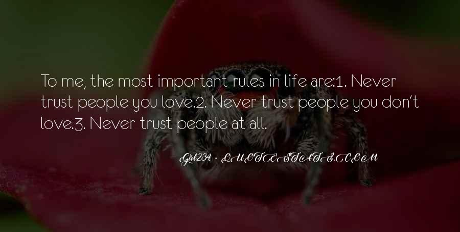 You Are Important To Me Love Quotes #1814999