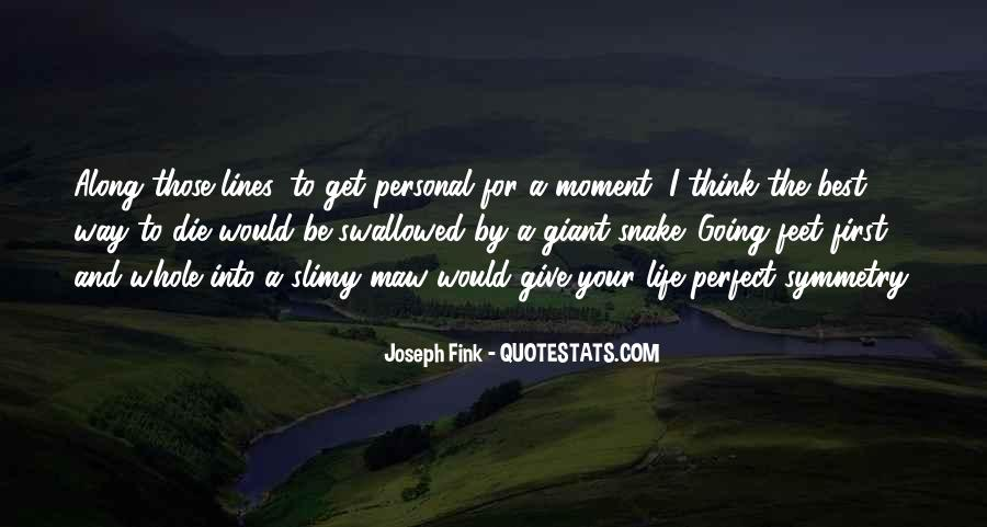 You Are Just So Perfect Quotes #3065