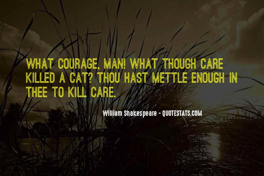 Quotes About Mettle #932731