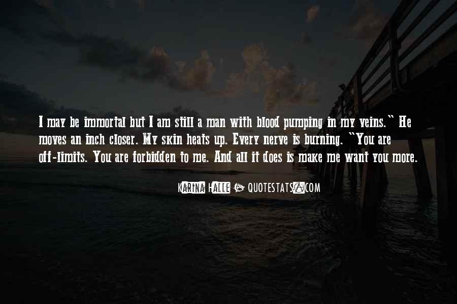 You Are My Blood Quotes #1010729