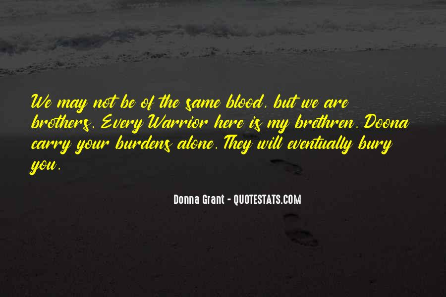You Are My Blood Quotes #129542