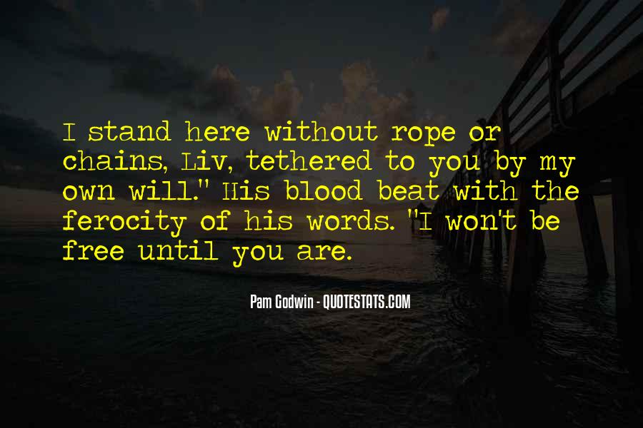 You Are My Blood Quotes #1338306