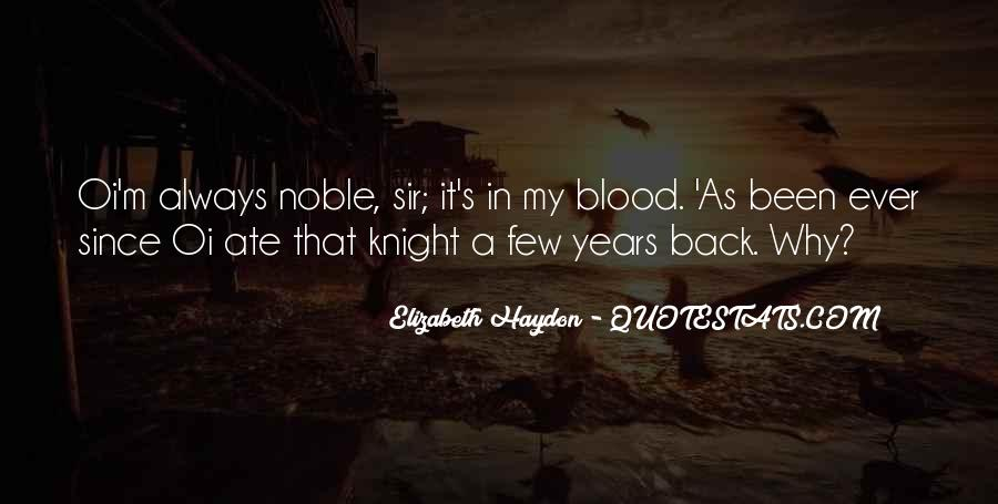 You Are My Blood Quotes #1428757