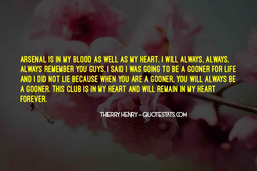 You Are My Blood Quotes #607772