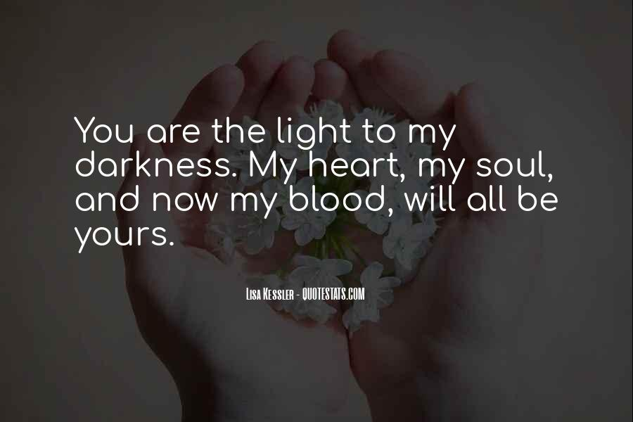 You Are My Blood Quotes #87085