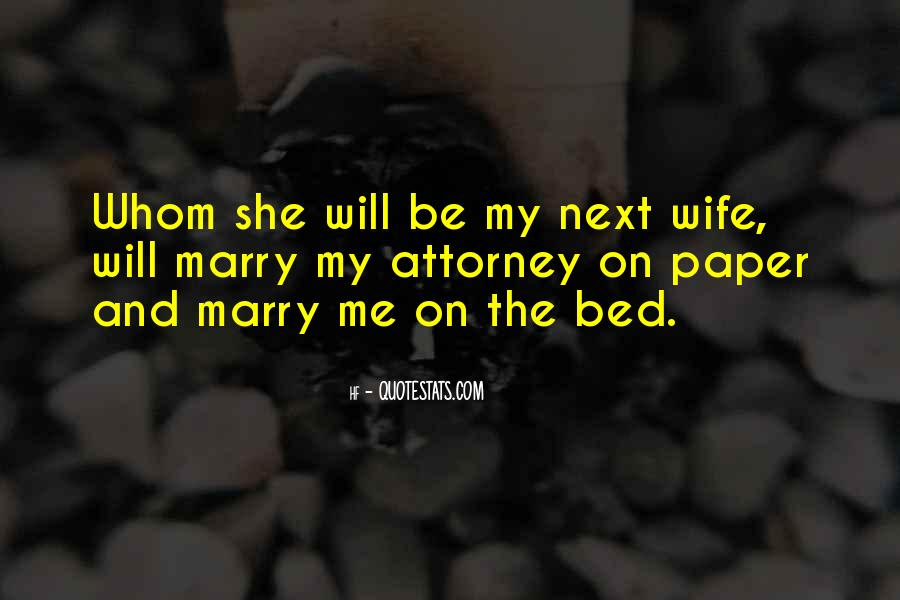 You Are My Future Wife Quotes #362698