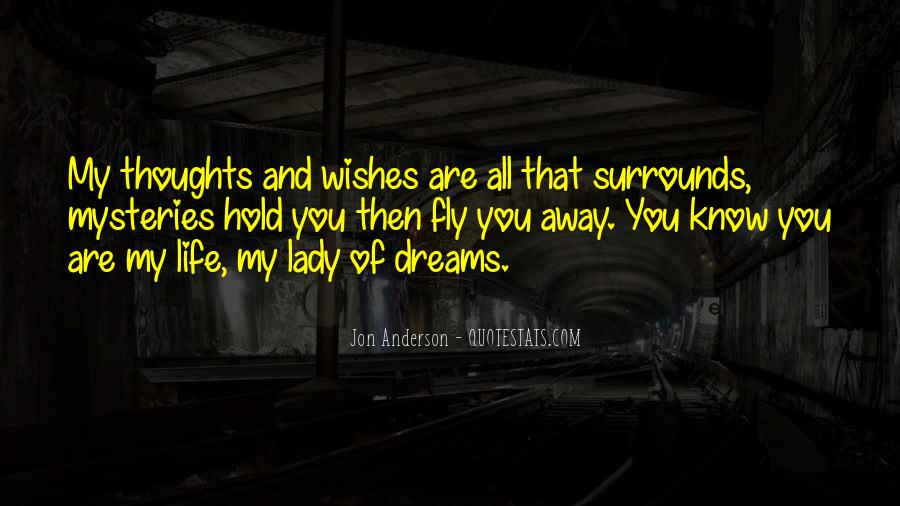 You Are My Lady Quotes #53088
