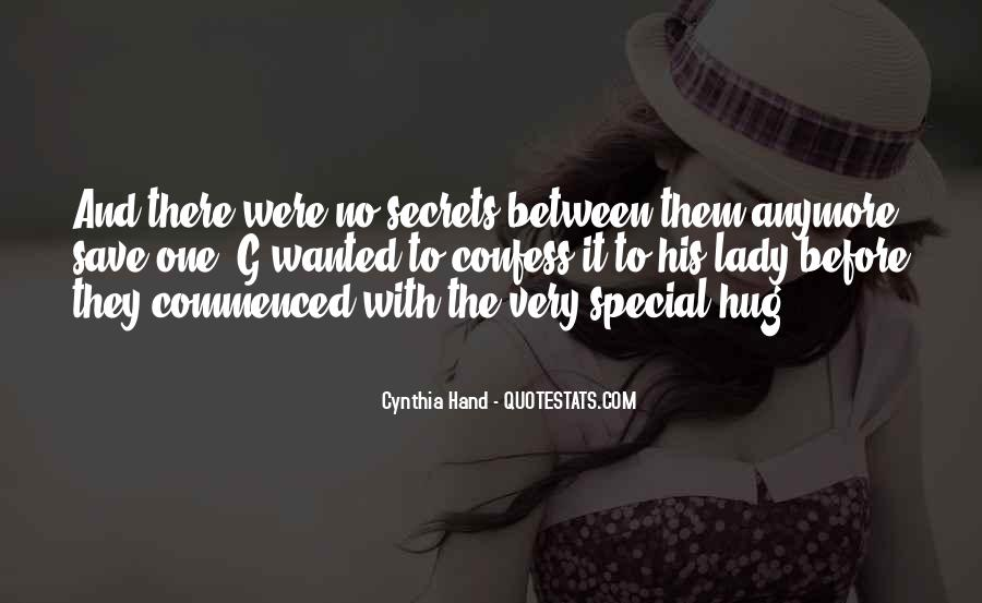 You Are My Special Lady Quotes #1142654