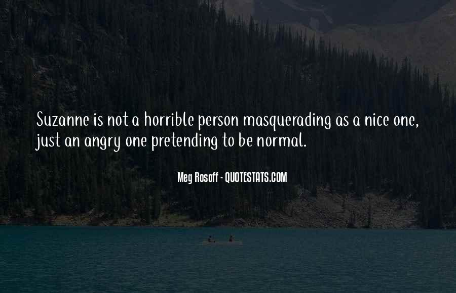 You Are Nice Person Quotes #345984