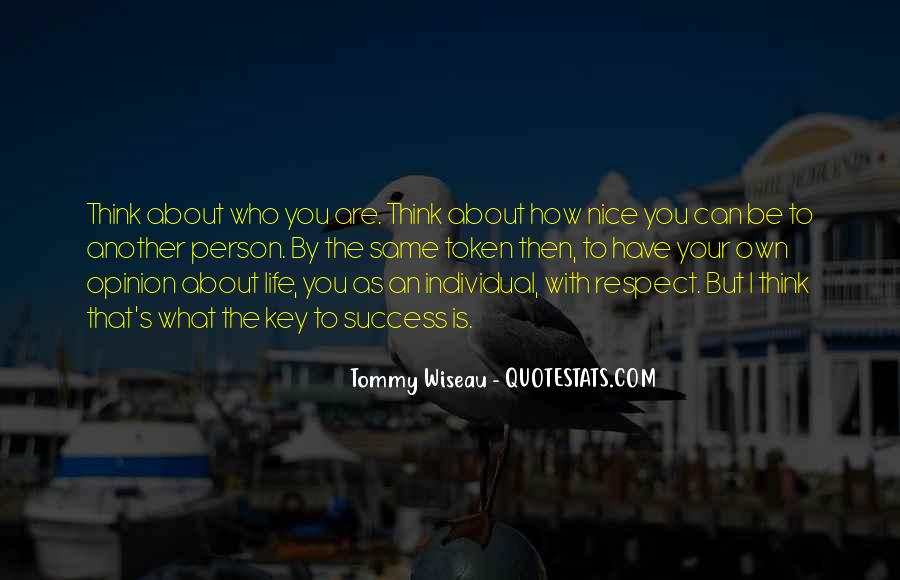 You Are Nice Person Quotes #355865