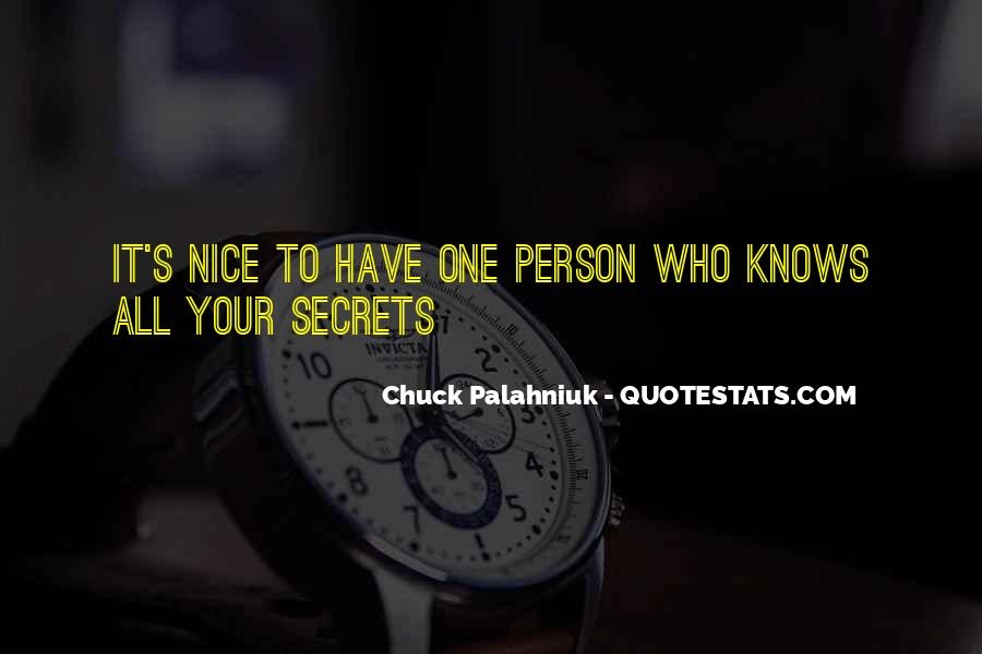 You Are Nice Person Quotes #431325
