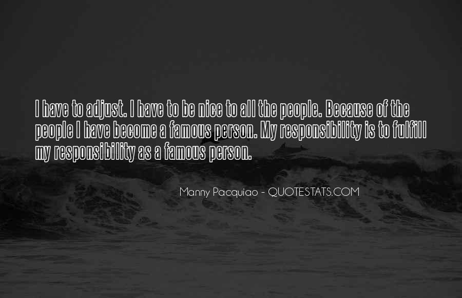 You Are Nice Person Quotes #574406