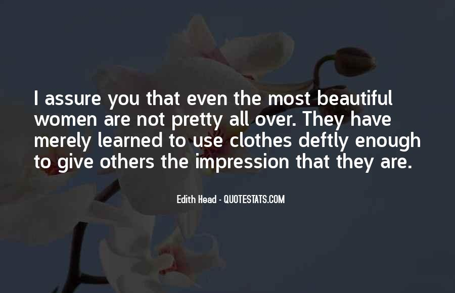 You Are Not Beautiful Quotes #312893
