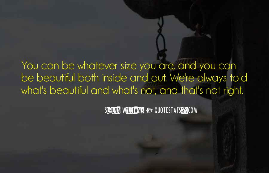 You Are Not Beautiful Quotes #560098