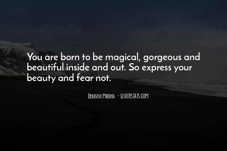 You Are Not Beautiful Quotes #82187