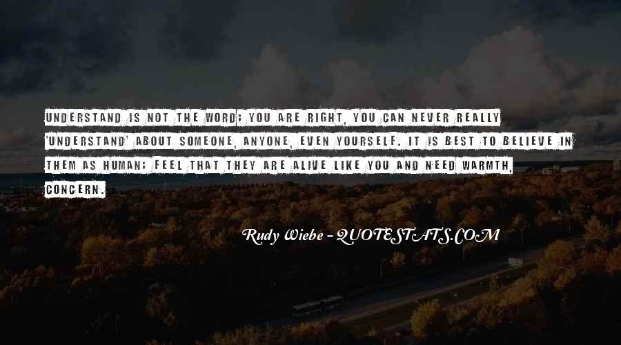 You Are Not The Best Quotes #246228